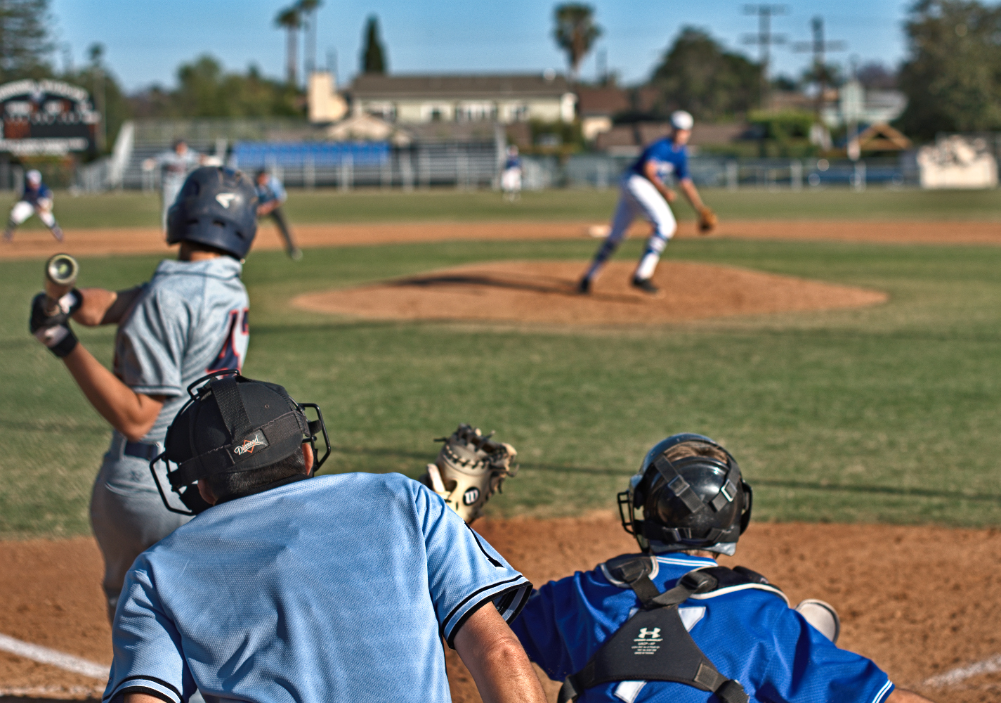 Sports Photography - Strike Three Swinging
