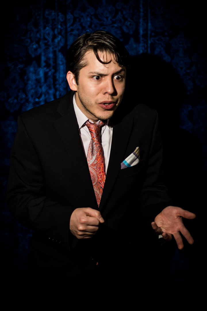 Stand Ups I: Nick Guerra is George Carlin (Blue Curtain)